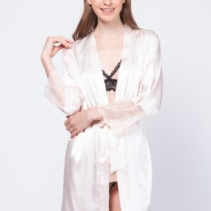 Calista Satin Robe